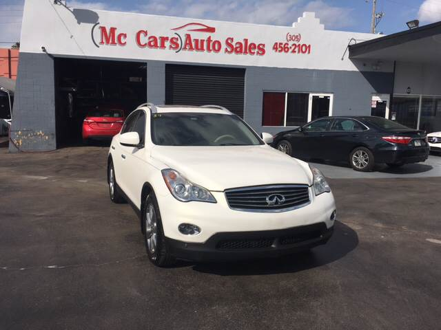 2008 INFINITI EX35 BASE 4DR CROSSOVER white 2-stage unlocking doors abs - 4-wheel active head r