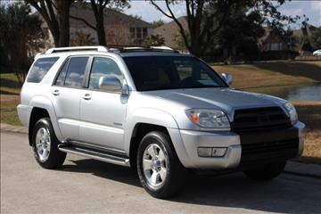 2003 Toyota 4Runner for sale in Spring, TX