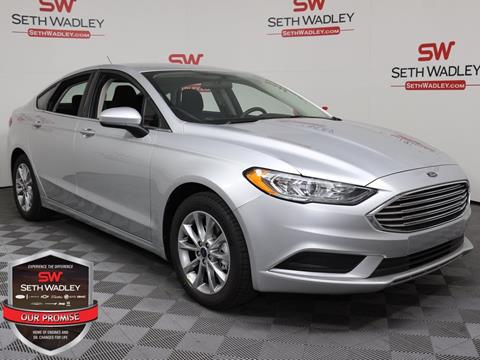 2017 Ford Fusion for sale in Pauls Valley, OK
