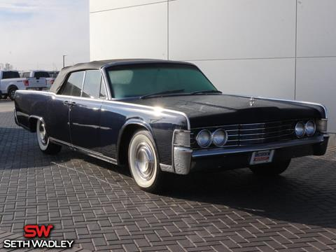 Lincoln continental 65