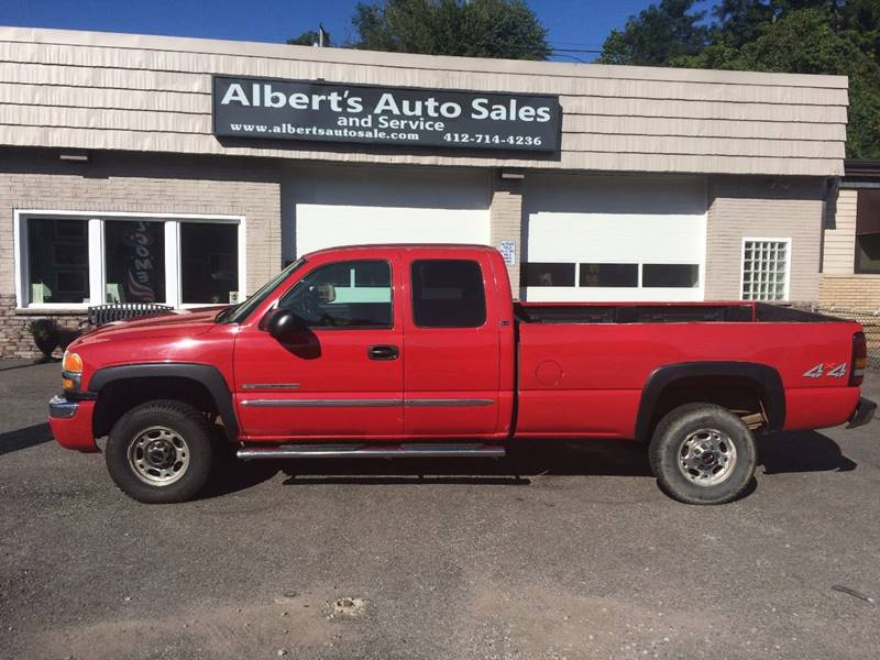 2004 GMC Sierra 2500HD 4dr Extended Cab 4WD LB - Pittsburgh PA