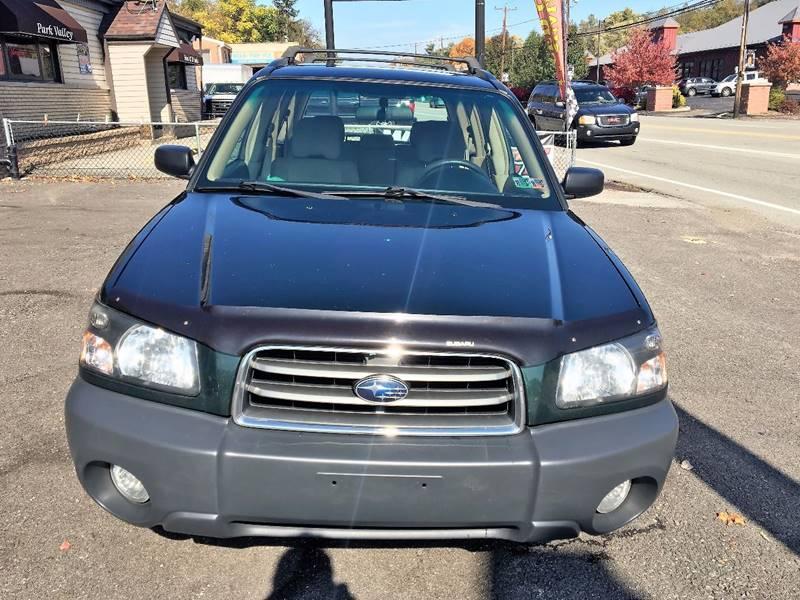 2005 Subaru Forester AWD X 4dr Wagon - Pittsburgh PA