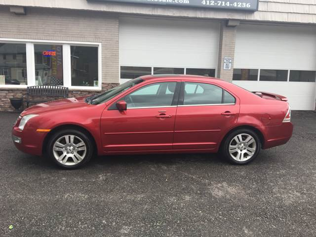 2008 Ford Fusion I4 SEL 4dr Sedan - Pittsburgh PA