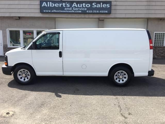 2011 Chevrolet Express Cargo AWD 1500 3dr Cargo Van - Pittsburgh PA