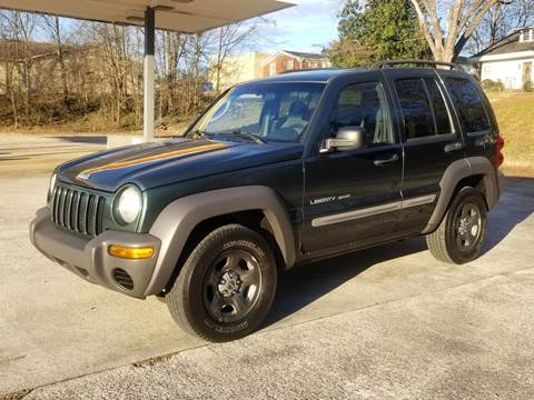 2003 Jeep Liberty for sale in Cartersville, GA