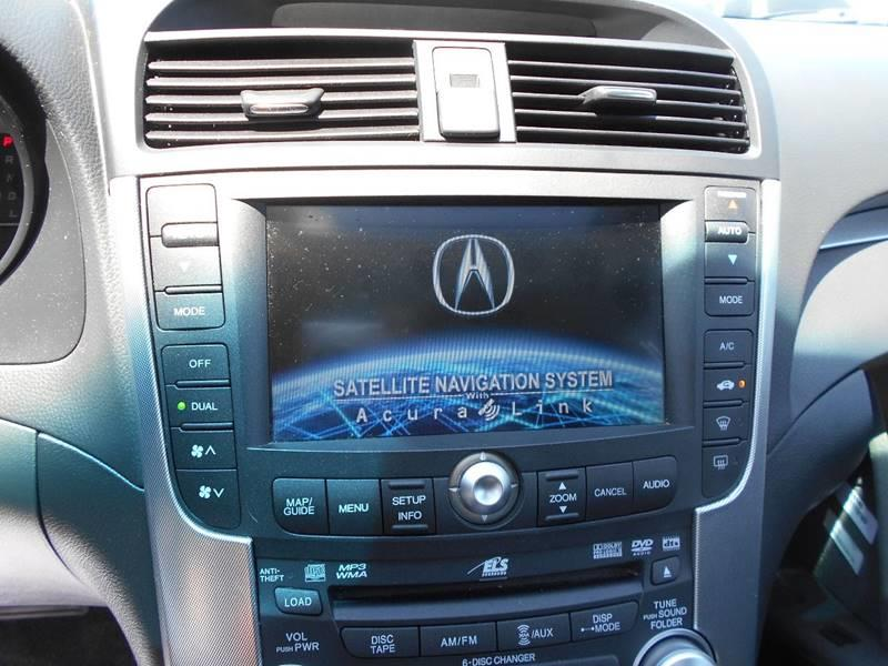 2008 acura tl navigation not working