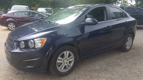 2015 Chevrolet Sonic for sale in Eight Mile, AL
