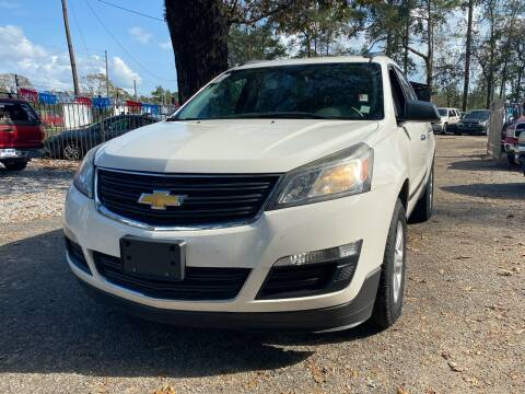 2014 Chevrolet Traverse for sale at Triple A Wholesale llc in Eight Mile AL