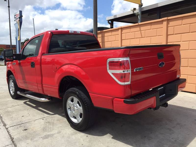 2010 Ford F-150 4x2 XL 2dr Regular Cab Styleside 6.5 ft. SB - Hialeah FL