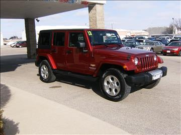 2013 Jeep Wrangler Unlimited for sale in Waverly, IA