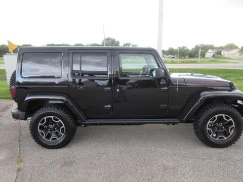 2016 Jeep Wrangler Unlimited for sale in Waverly, IA