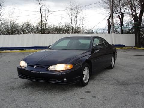 2001 Chevrolet Monte Carlo for sale in New Castle, DE