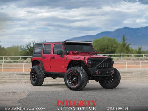 2012 Jeep Wrangler Unlimited for sale in Albuquerque, NM