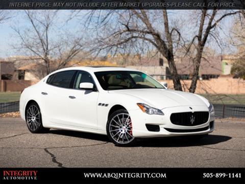 Used Maserati Price >> Used Maserati For Sale In Albuquerque Nm Carsforsale Com