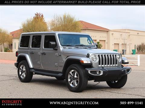 2019 Jeep Wrangler Unlimited for sale in Albuquerque, NM