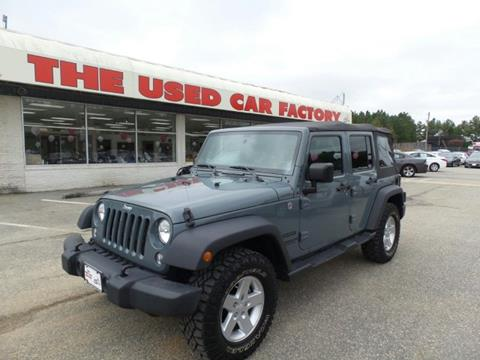 2014 Jeep Wrangler Unlimited for sale in Mechanicsville, MD