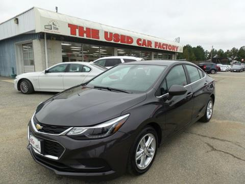 2017 Chevrolet Cruze for sale in Mechanicsville, MD