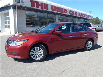2016 Nissan Altima for sale in Mechanicsville, MD
