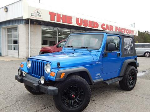2003 Jeep Wrangler for sale in Mechanicsville, MD