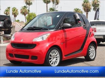 2011 Smart fortwo for sale in Peoria, AZ