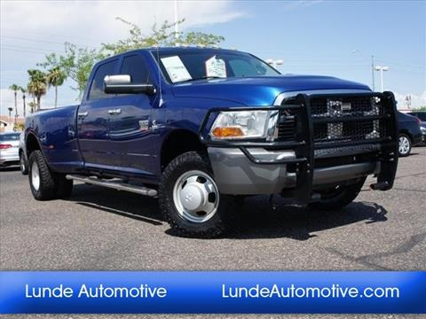 2010 Dodge Ram Pickup 3500 for sale in Peoria, AZ