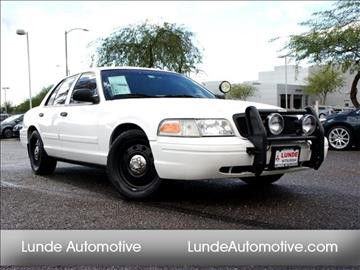2010 Ford Crown Victoria for sale in Peoria, AZ