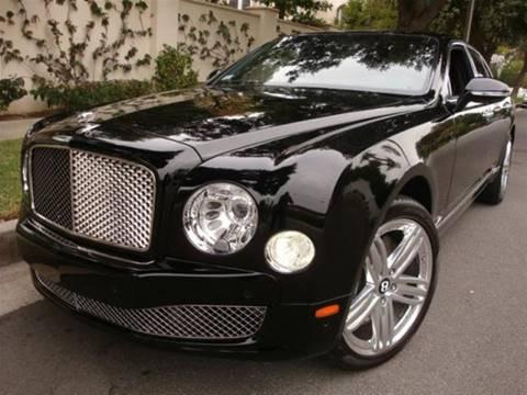 2012 Bentley Mulsanne for sale in Newport Beach, CA