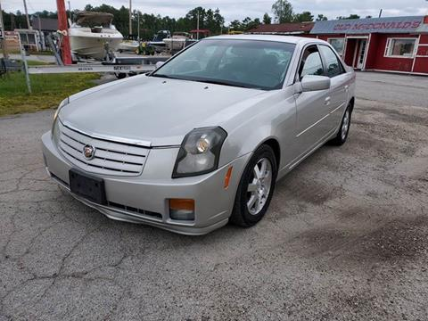 2007 Cadillac CTS for sale at GEORGIA AUTO DEALER, LLC in Buford GA