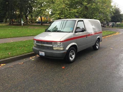 1998 Chevrolet Astro Cargo for sale in Seattle, WA