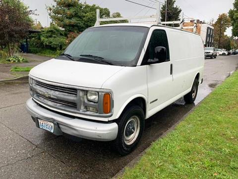 2002 Chevrolet Express Cargo for sale in Seattle, WA