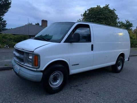 1999 Chevrolet Express Cargo for sale at Washington Auto Loan House in Seattle WA