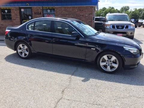 2008 BMW 5 Series for sale at CARBLOK in Lewisville TX
