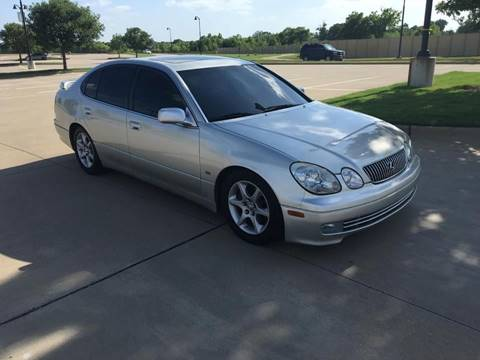 2002 Lexus GS 300 for sale at CARBLOK in Lewisville TX