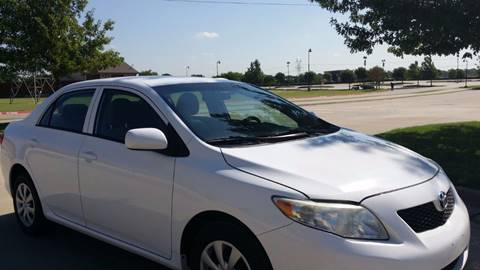 2010 Toyota Corolla for sale at CARBLOK in Lewisville TX