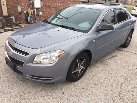 2008 Chevrolet Malibu for sale at CARBLOK in Lewisville TX