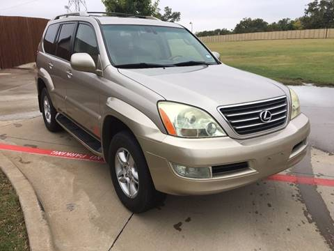 2004 Lexus GX 470 for sale at CARBLOK in Lewisville TX