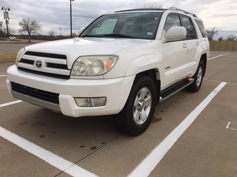 2004 Toyota 4Runner For Sale At CARBLOK In Lewisville TX