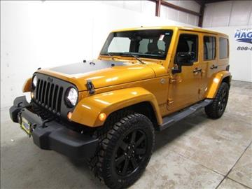 2014 Jeep Wrangler Unlimited for sale in West Chicago, IL
