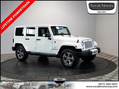 2016 Jeep Wrangler Unlimited for sale in Farmingdale, NY