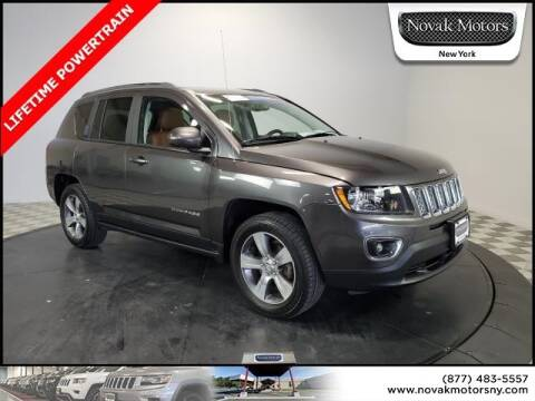 2017 Jeep Compass High Altitude for sale at Novak Motors in Farmingdale NY