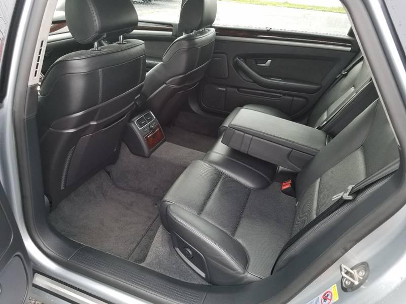 2006 Audi A8 L Awd Quattro 4dr Sedan In Portland Me Riverside Auto