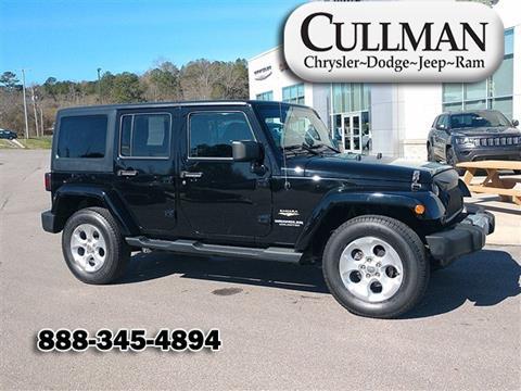 2014 Jeep Wrangler Unlimited for sale in Cullman, AL