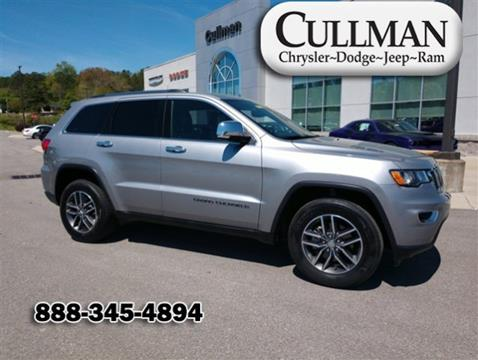 2018 Jeep Grand Cherokee for sale in Cullman, AL
