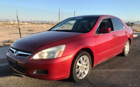 2007 Honda Accord for sale in Las Vegas, NV