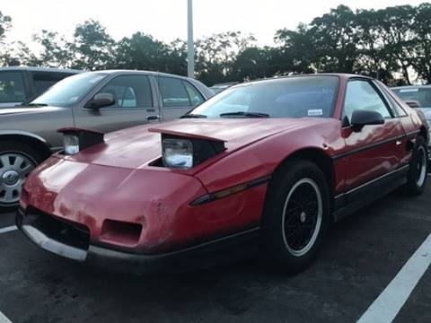 1986 Pontiac Fiero for sale in Longwood, FL