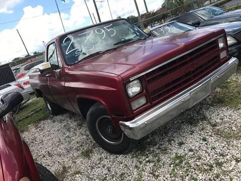 1985 Chevrolet C/K 10 Series for sale in Longwood, FL