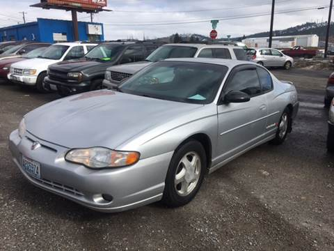 2001 Chevrolet Monte Carlo for sale in Spokane, WA
