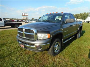 2005 Dodge Ram Pickup 3500 for sale in Wever, IA
