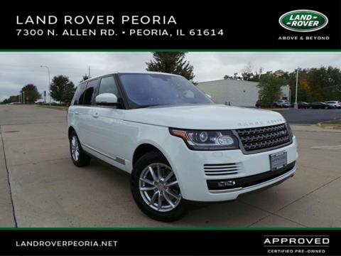 2016 Land Rover Range Rover for sale in Peoria, IL