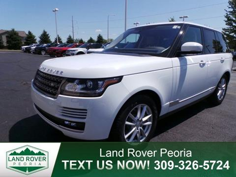 2017 Land Rover Range Rover for sale in Peoria, IL